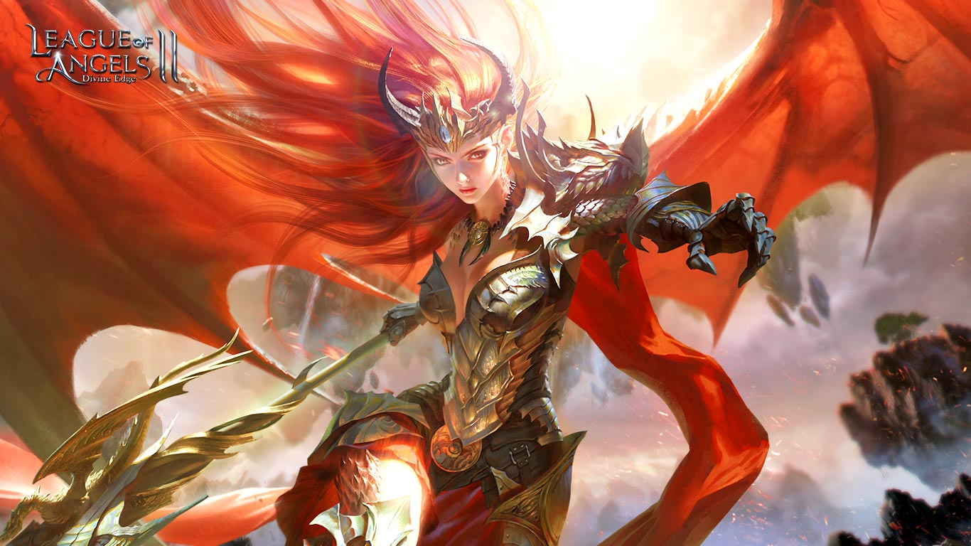 1366x768 - League Of Angels HD Wallpapers 17