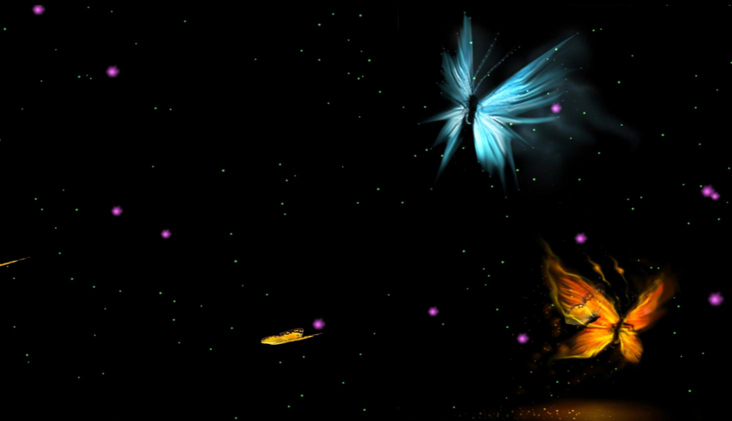 1465x843 - Pretty Butterfly Backgrounds 29