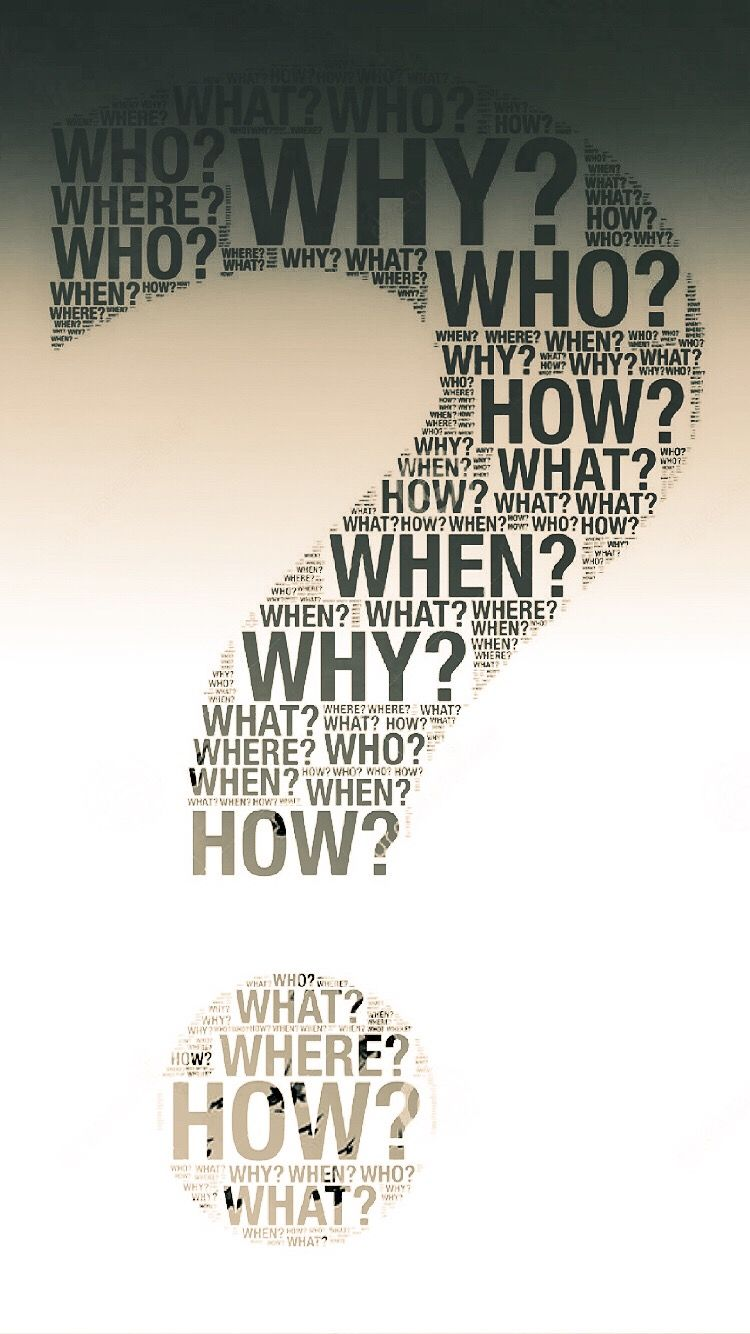 Question Mark Wallpapers 32 Images Dodowallpaper