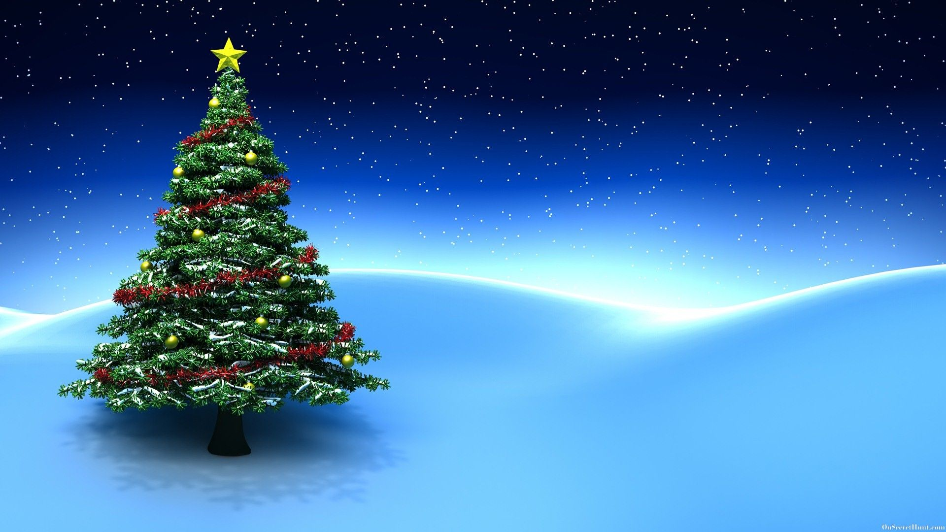1920x1080 - Christmas Trees Backgrounds 7