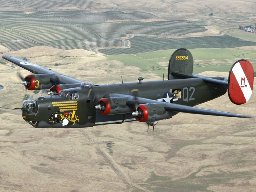 1024x768 - Consolidated B-24 Liberator Wallpapers 8