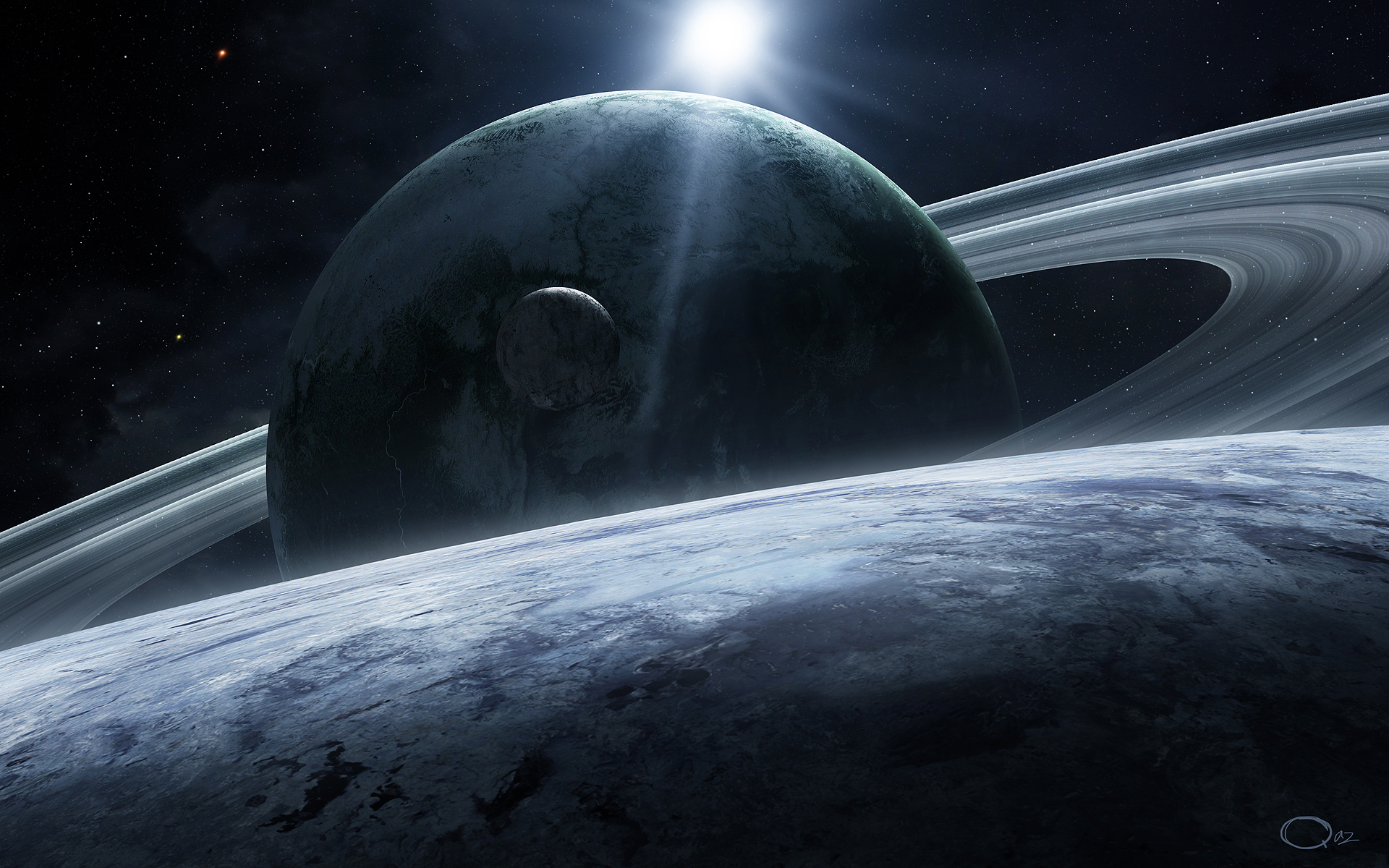 1920x1200 - Planetary Ring Wallpapers 34