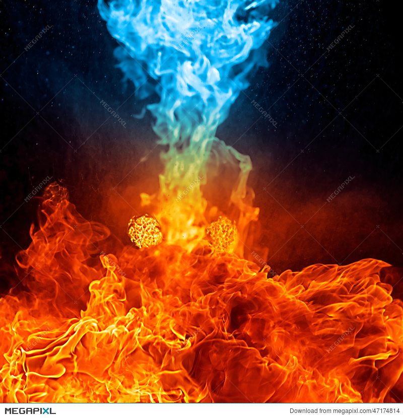 800x830 - Red and Blue Fire 22