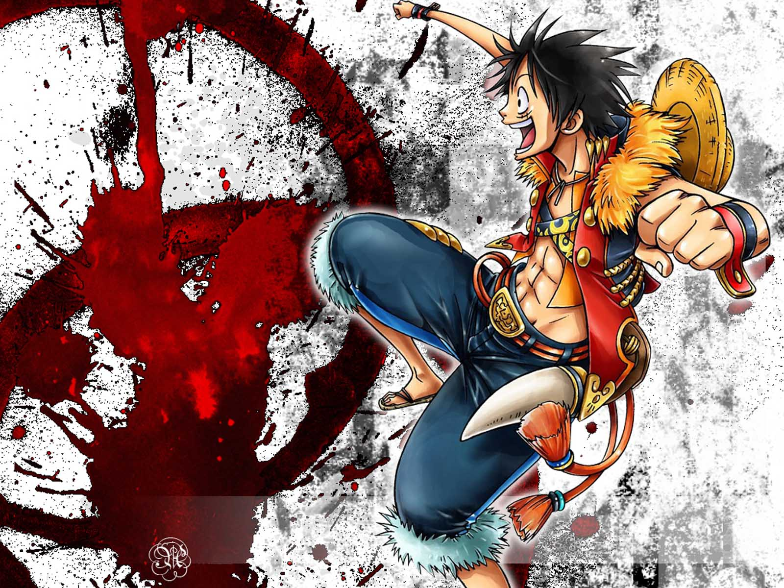 One Piece Wallpaper Luffy 46 Images Dodowallpaper