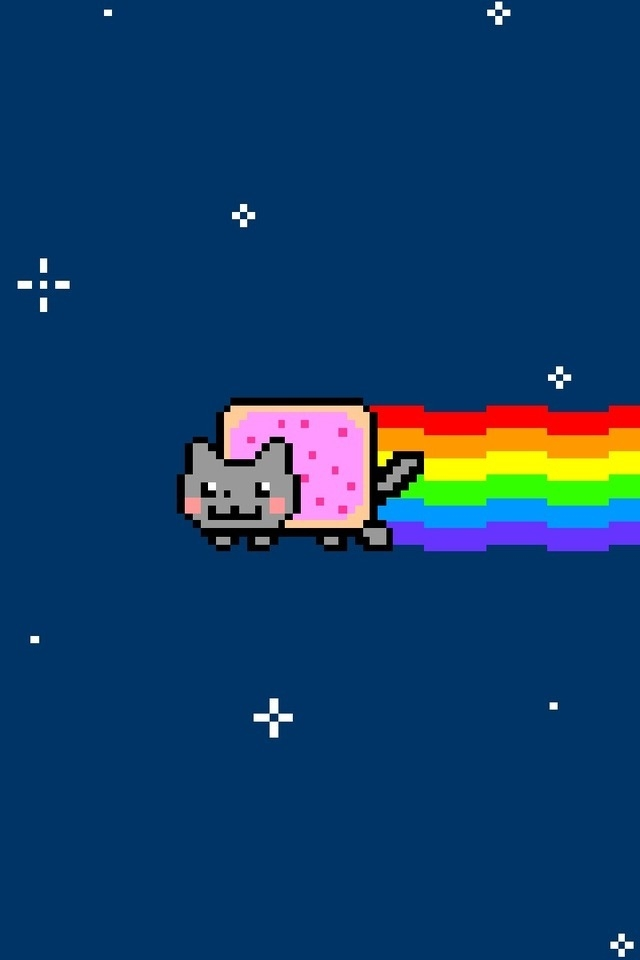 640x960 - Nyan Cat iPhone 5