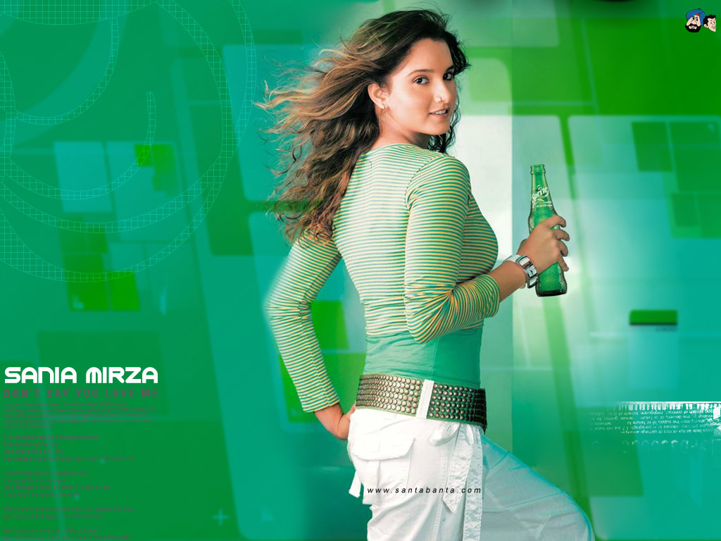 1024x768 - Sania Mirza Wallpapers 1