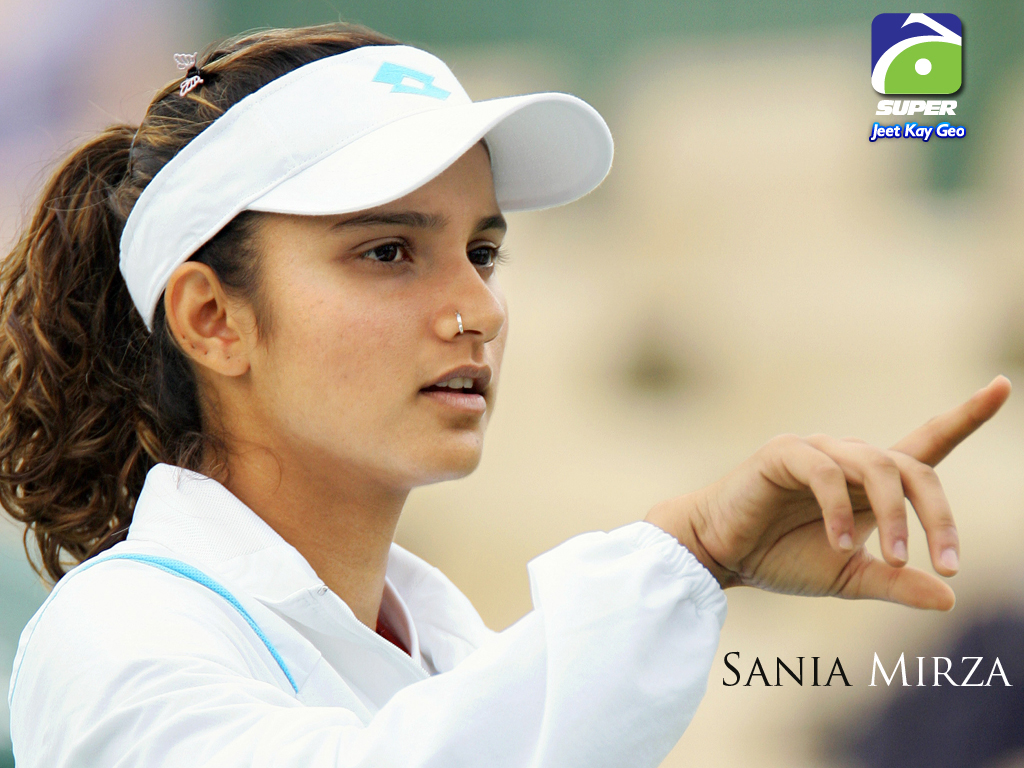 1024x768 - Sania Mirza Wallpapers 20