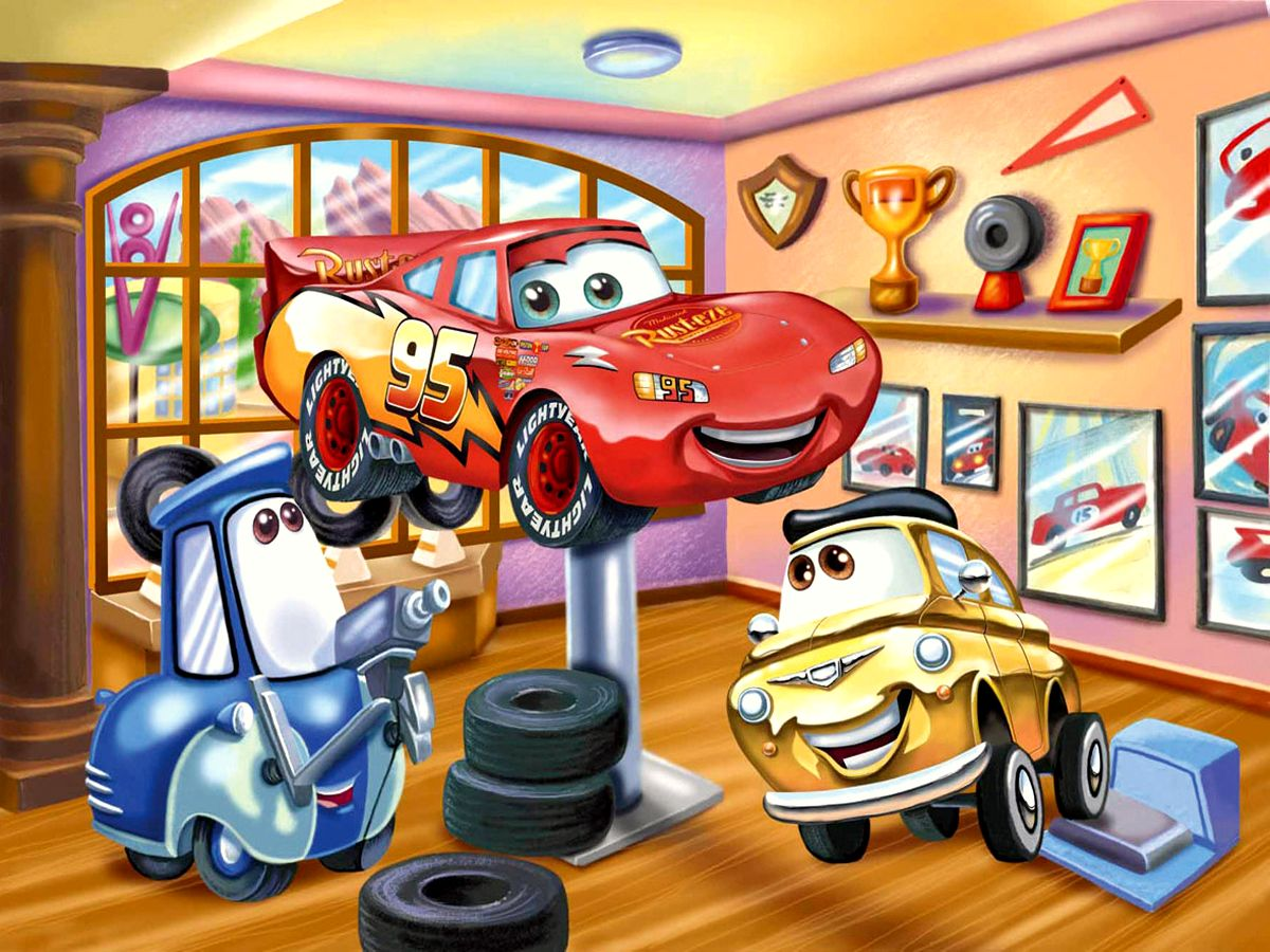 1200x900 - Wallpaper Cars Cartoon 39