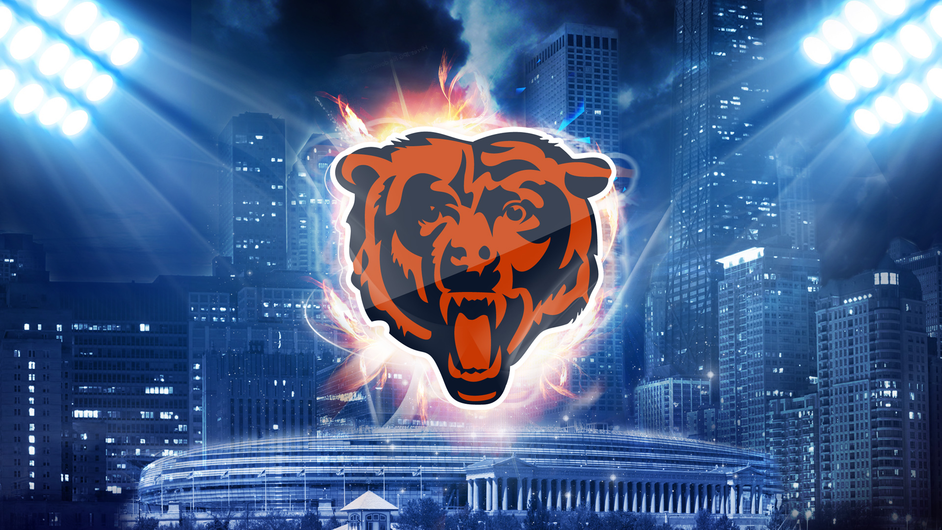 1920x1080 - Chicago Bears Wallpapers 6