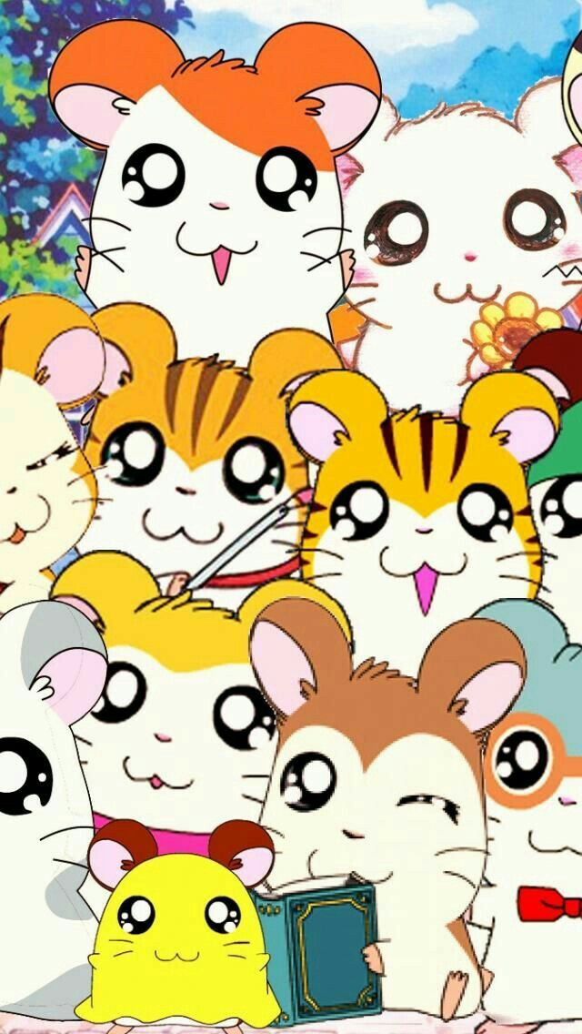640x1136 - Hamtaro Background 36