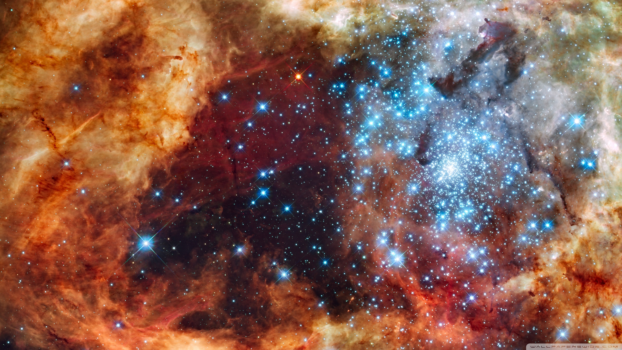 2560x1440 - Star Cluster Wallpapers 37