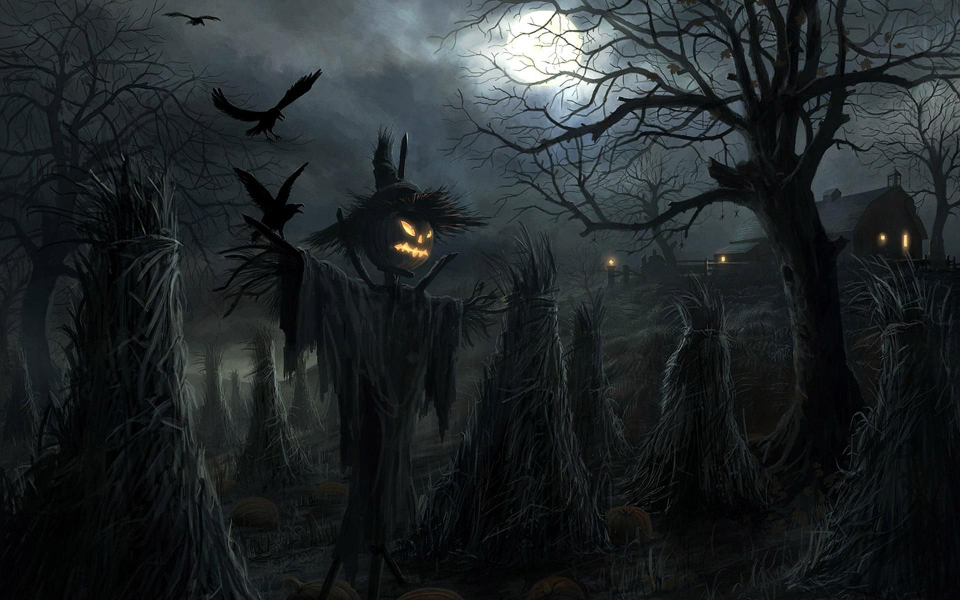 1920x1200 - Scary Halloween Background 31