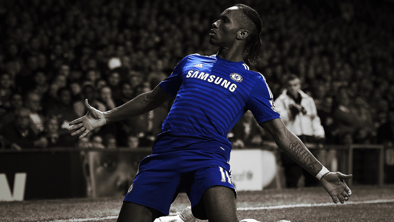 1366x768 - Didier Drogba Wallpapers 24