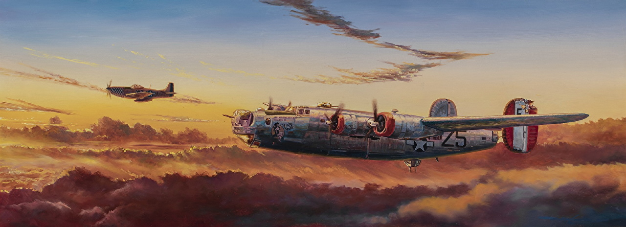 1280x464 - Consolidated B-24 Liberator Wallpapers 19