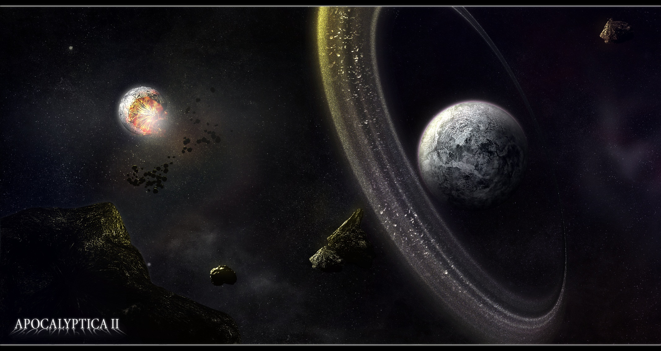 2133x1134 - Planetary Ring Wallpapers 21