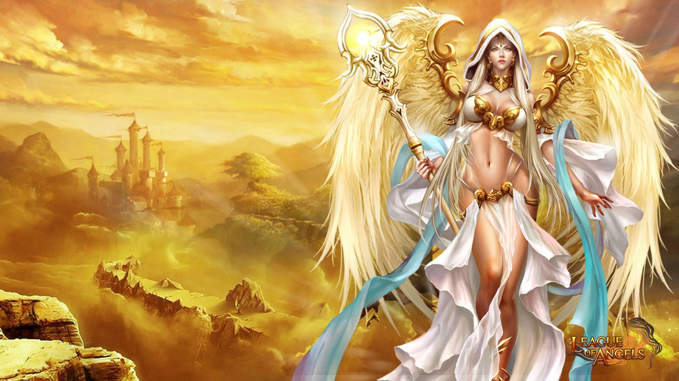 1366x768 - League Of Angels HD Wallpapers 4