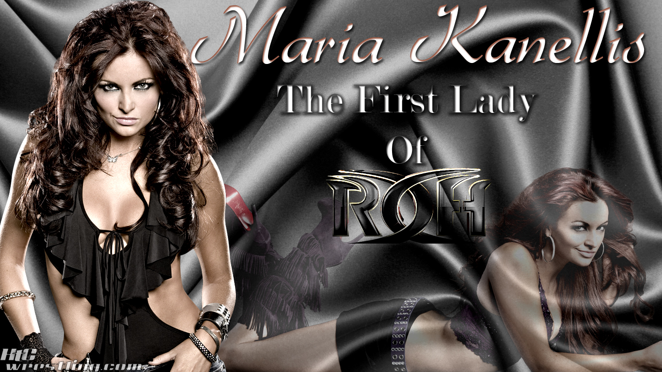 1366x768 - Maria Kanellis Wallpapers 9