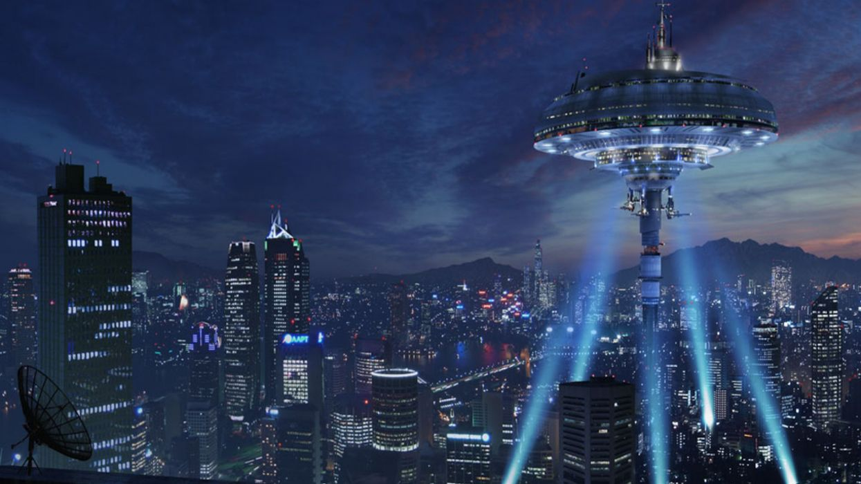 1245x700 - Sci Fi Building Wallpapers 2