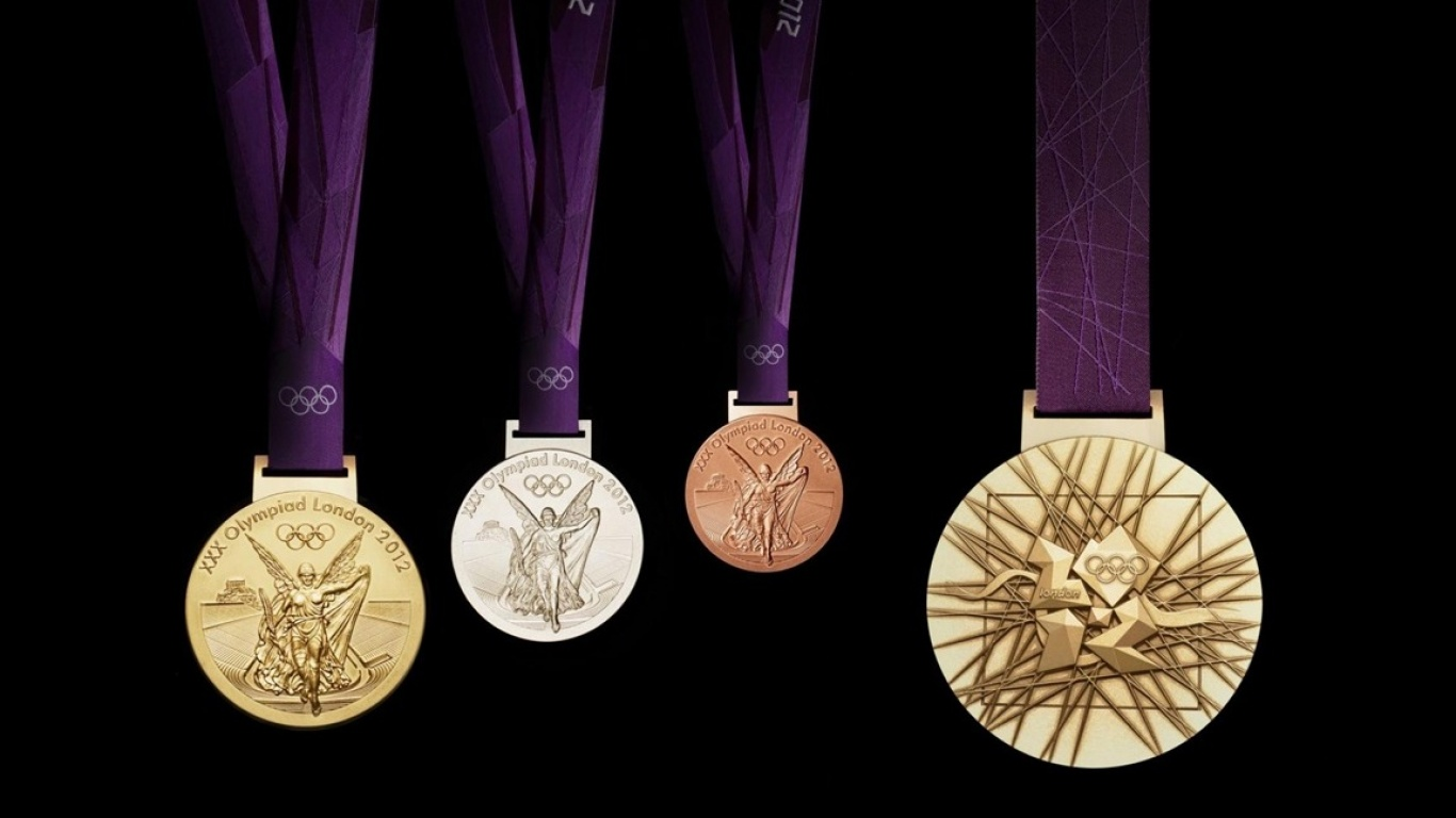 1366x768 - Olympic Gold Metal Wallpapers 13