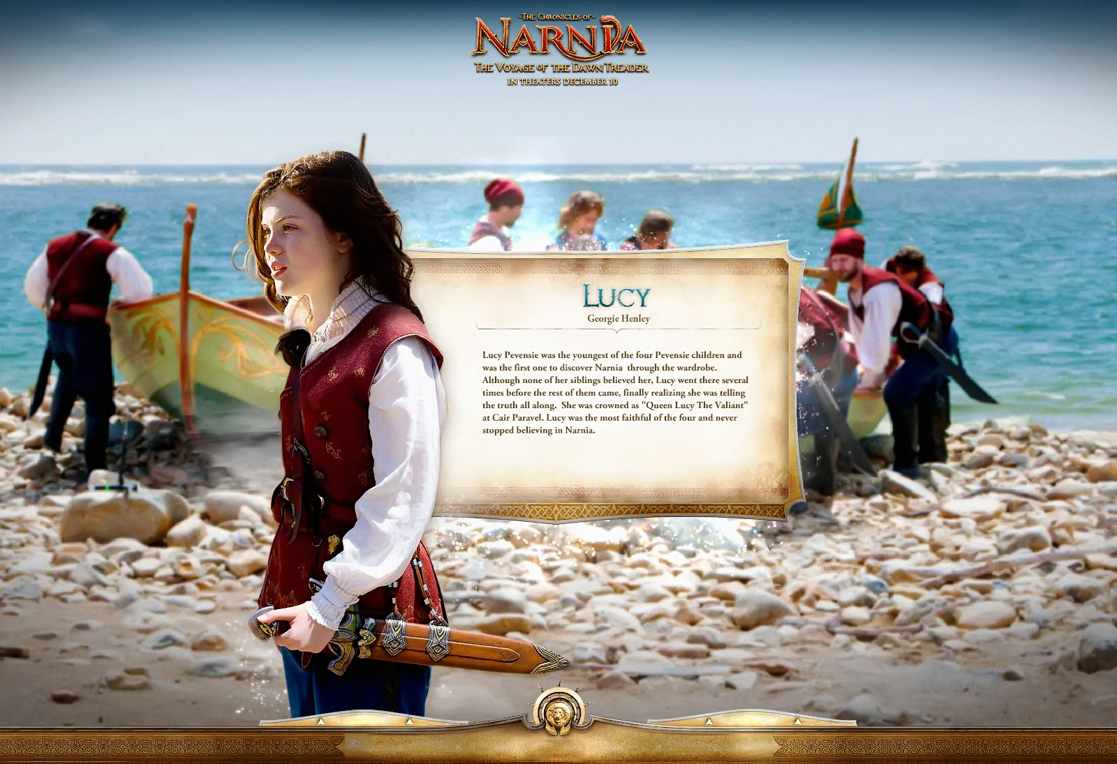 1600x1095 - The Chronicles of Narnia: The Voyage of the Dawn Treader Wallpapers 7