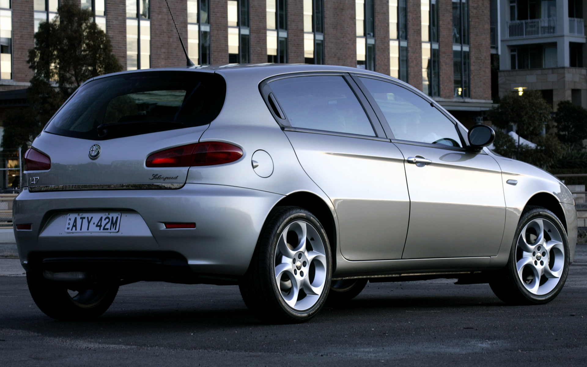 1920x1200 - Alfa Romeo 147 Wallpapers 33