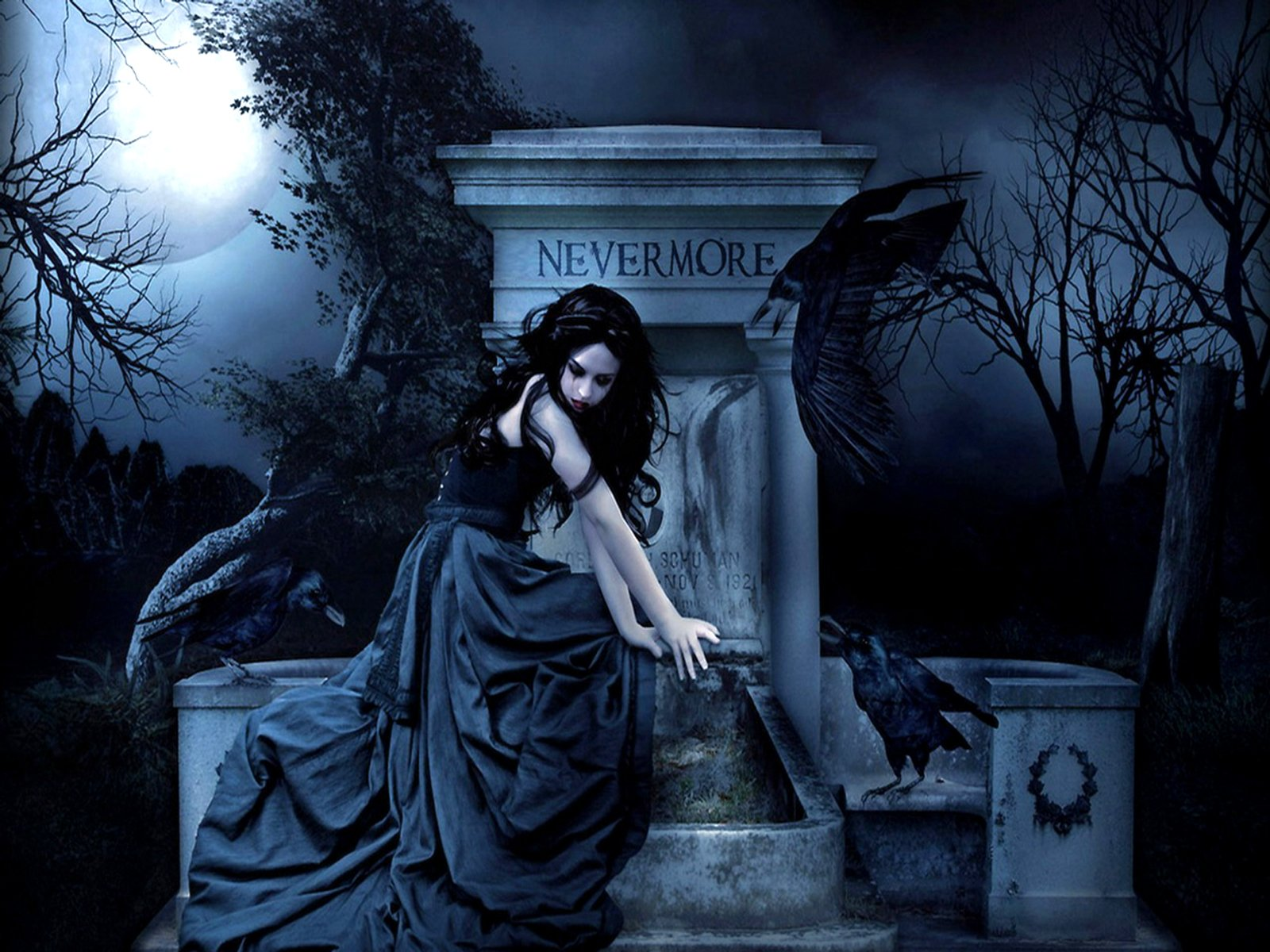 1600x1200 - Cool Gothic Backgrounds 28