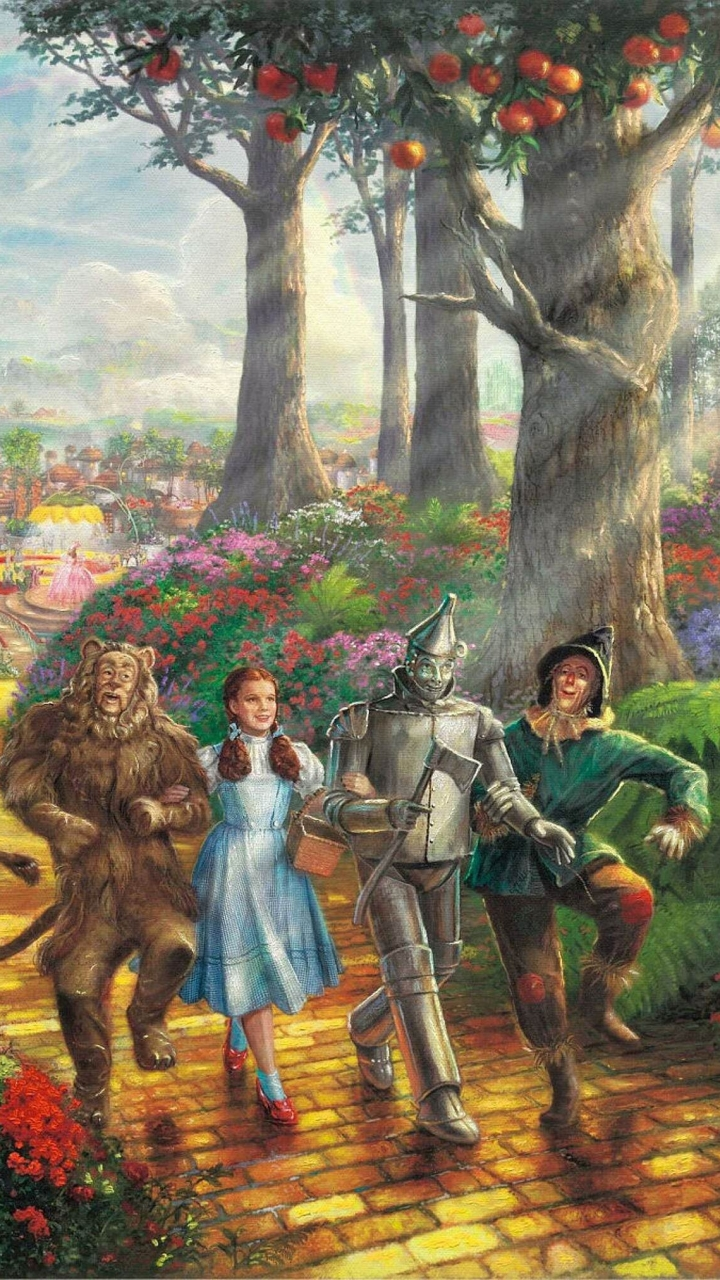 The Wizard Of Oz Wallpapers 30 Images Dodowallpaper