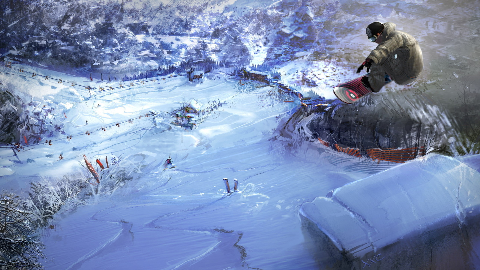 1600x900 - Snowboarding Wallpapers 30