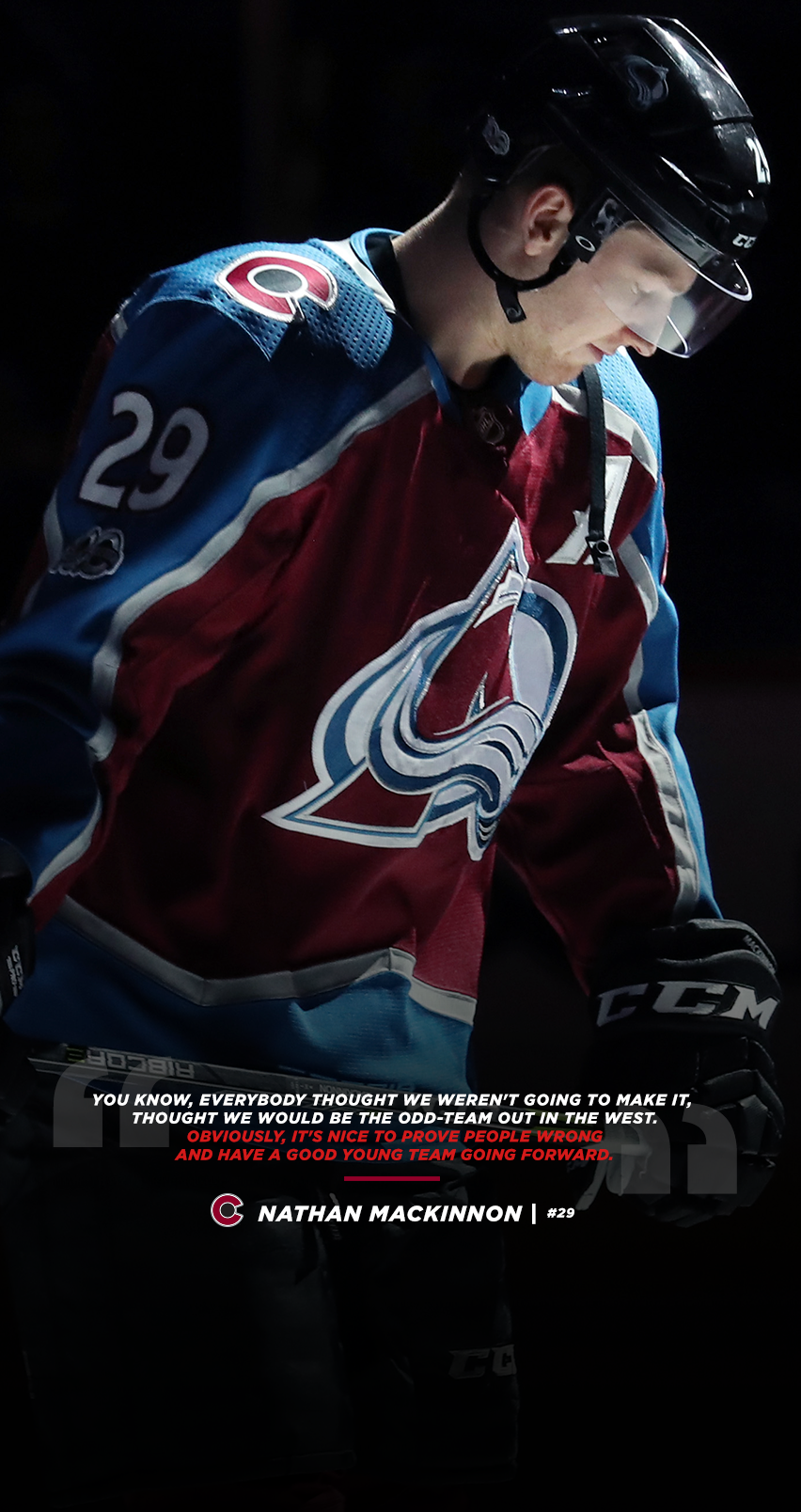 852x1608 - Colorado Avalanche Wallpapers 6