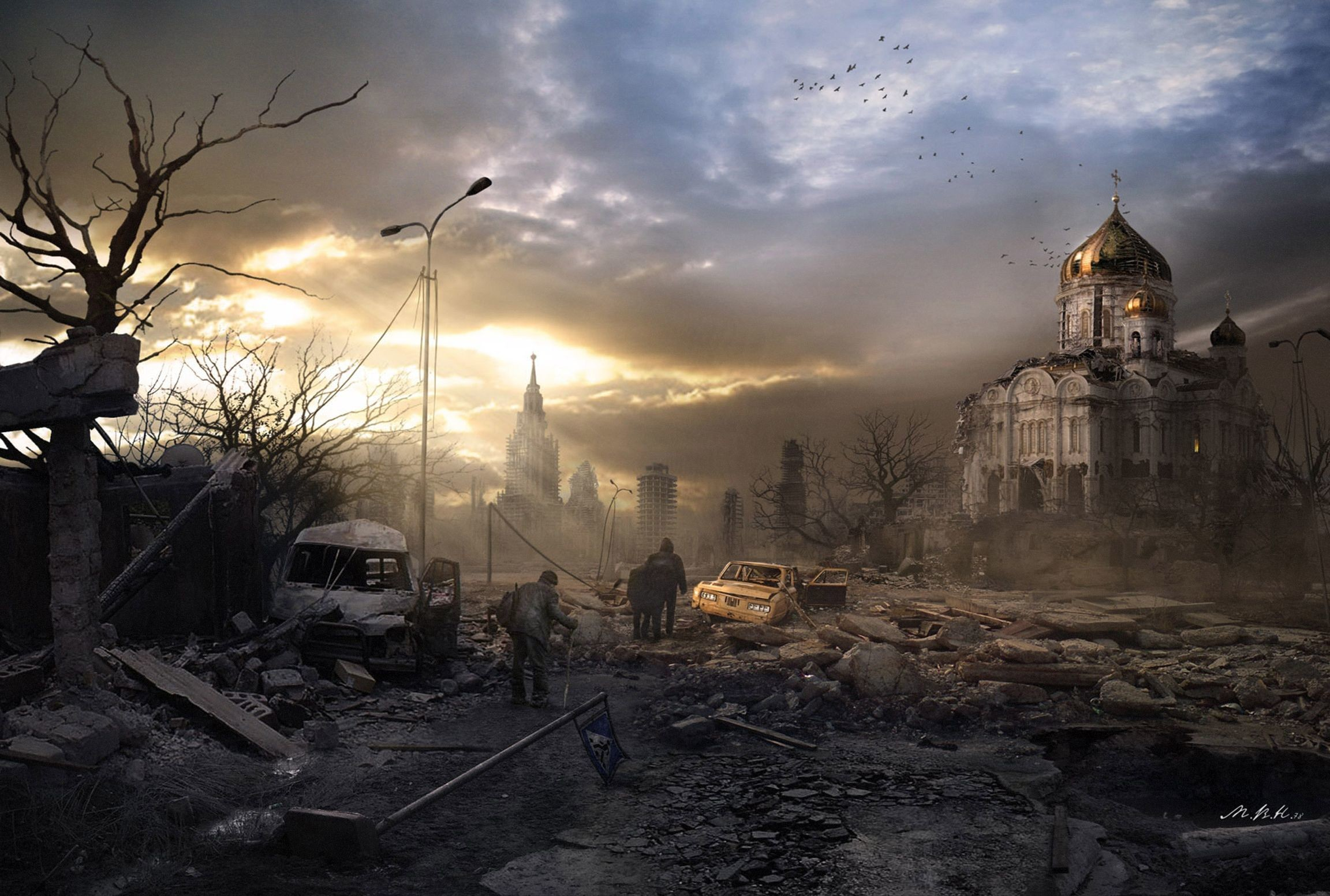 2304x1553 - Post Apocalyptic Wallpapers 35
