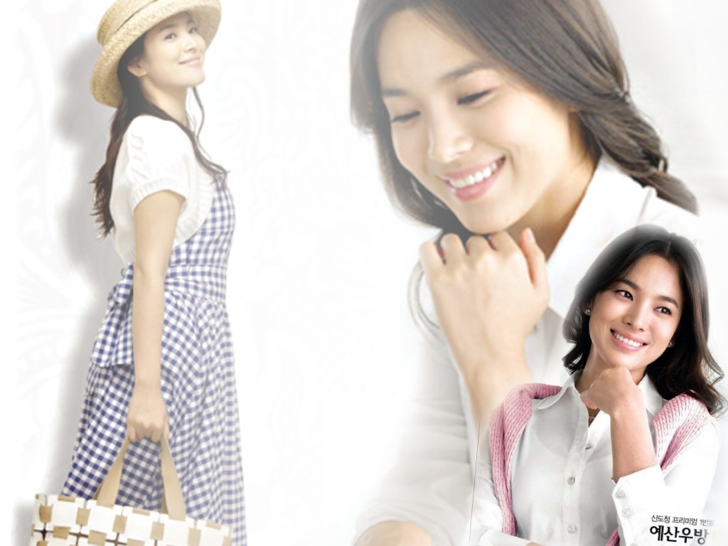 1024x768 - Song Hye-Kyo Wallpapers 11