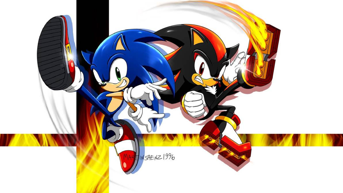 1192x670 - Sonic and Shadow 23