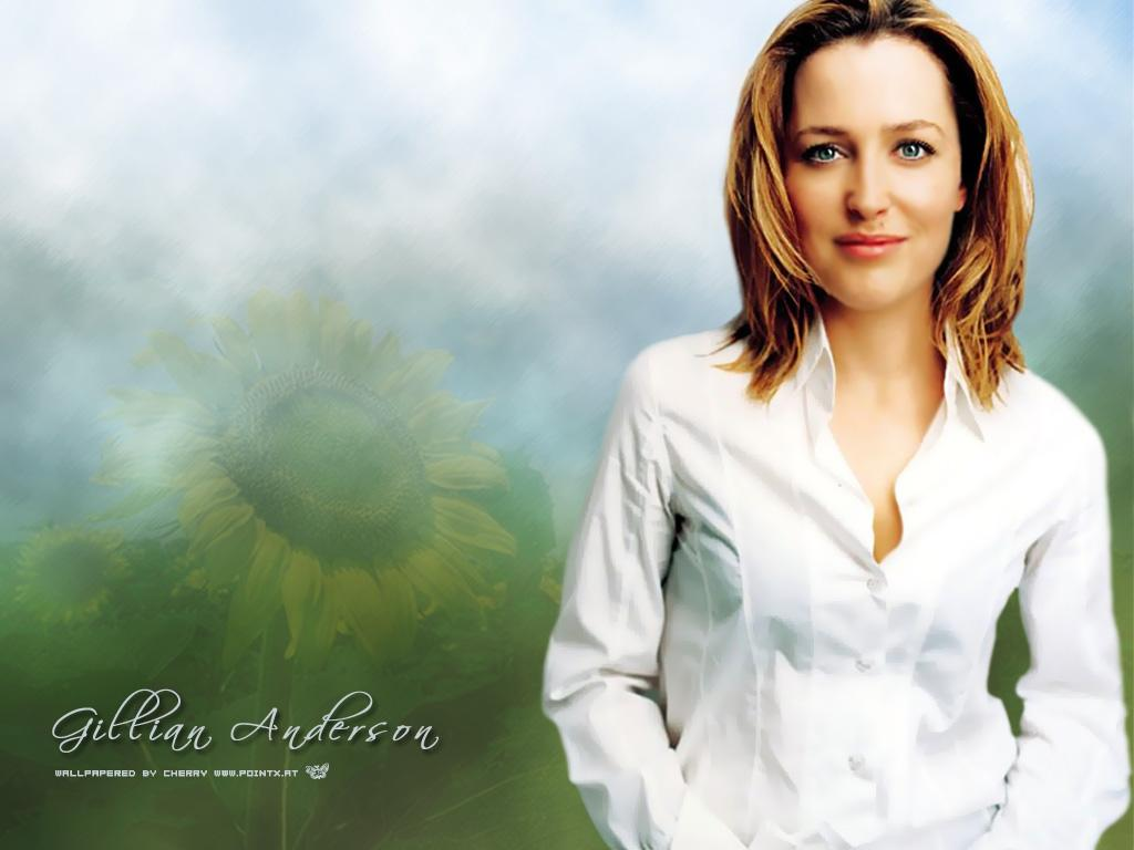 1024x768 - Gillian Anderson Wallpapers 33