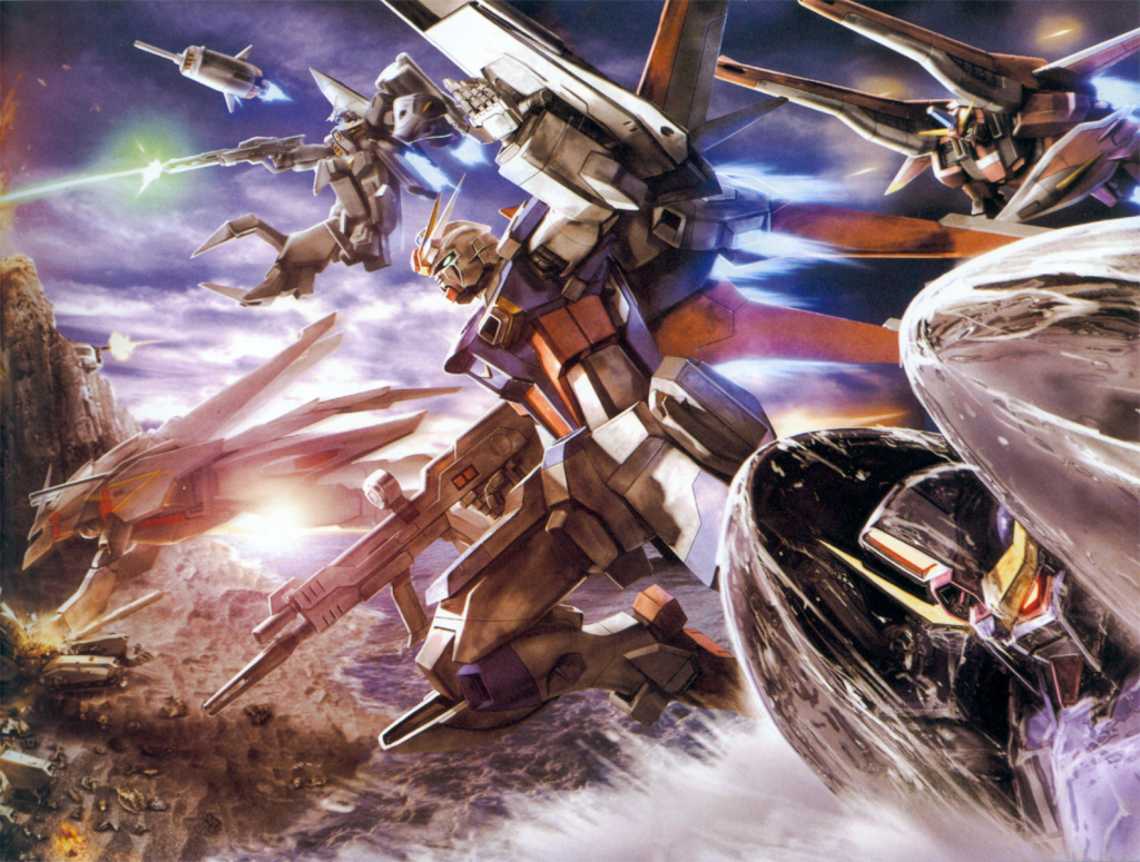 1024x775 - Mobile Suit Gundam Seed Destiny Wallpapers 27