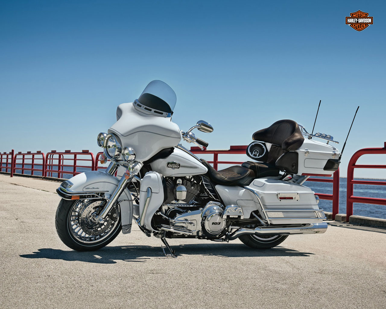 1280x1024 - Harley-Davidson Electra Glide Ultra Classic Wallpapers 27