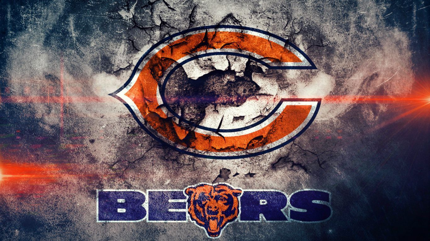 1366x768 - Chicago Bears Wallpapers 8