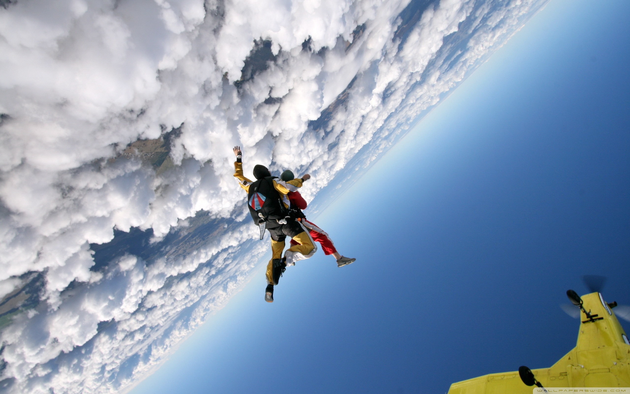 2560x1600 - Skydiving Wallpapers 8