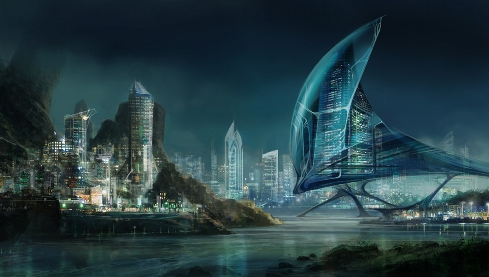 970x550 - Sci Fi Building Wallpapers 13