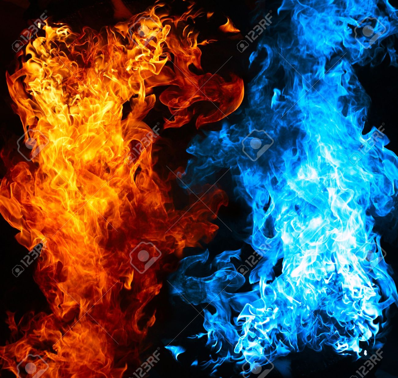 1300x1234 - Red and Blue Fire 3