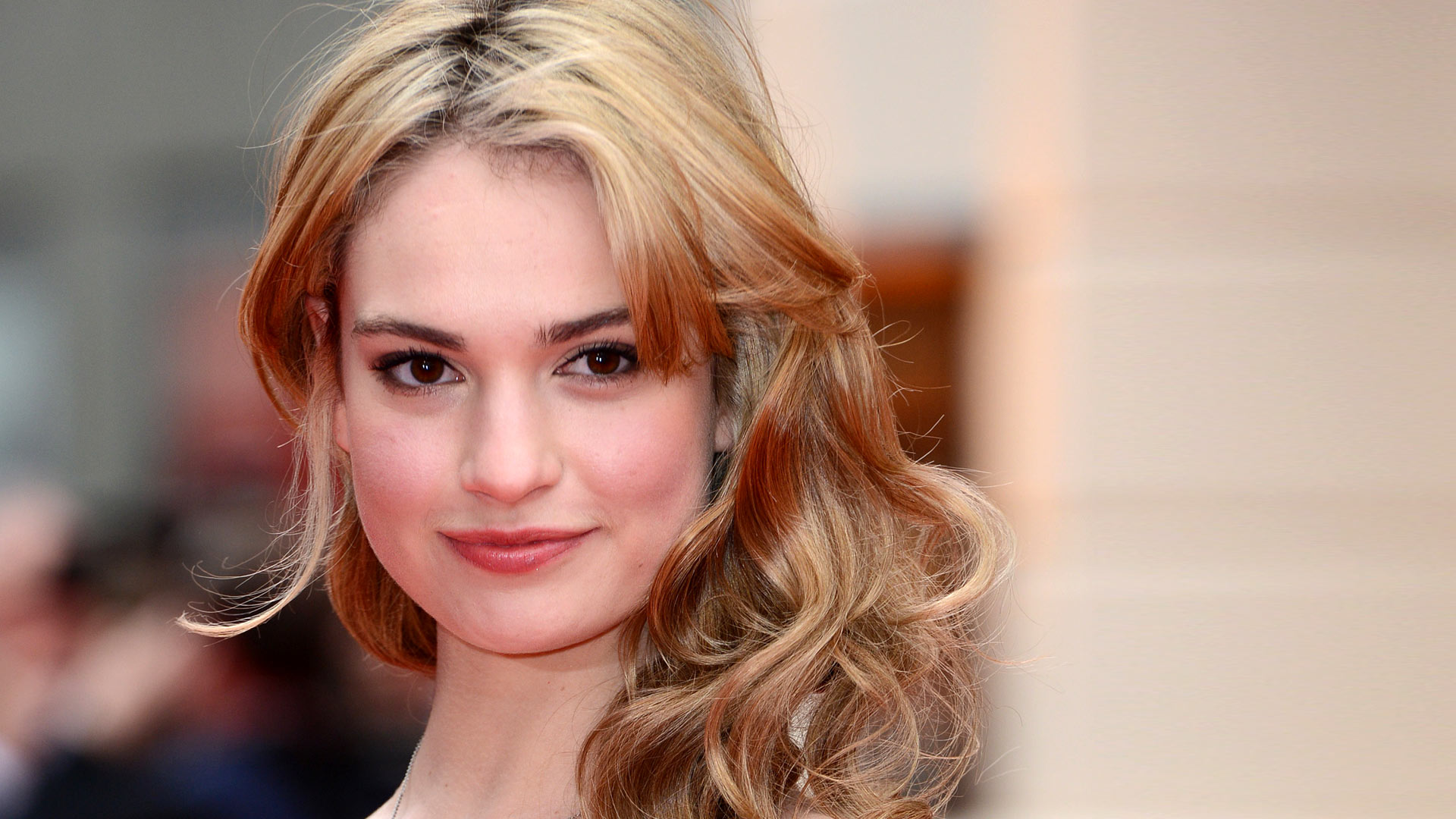 1920x1080 - Lily James Wallpapers 2