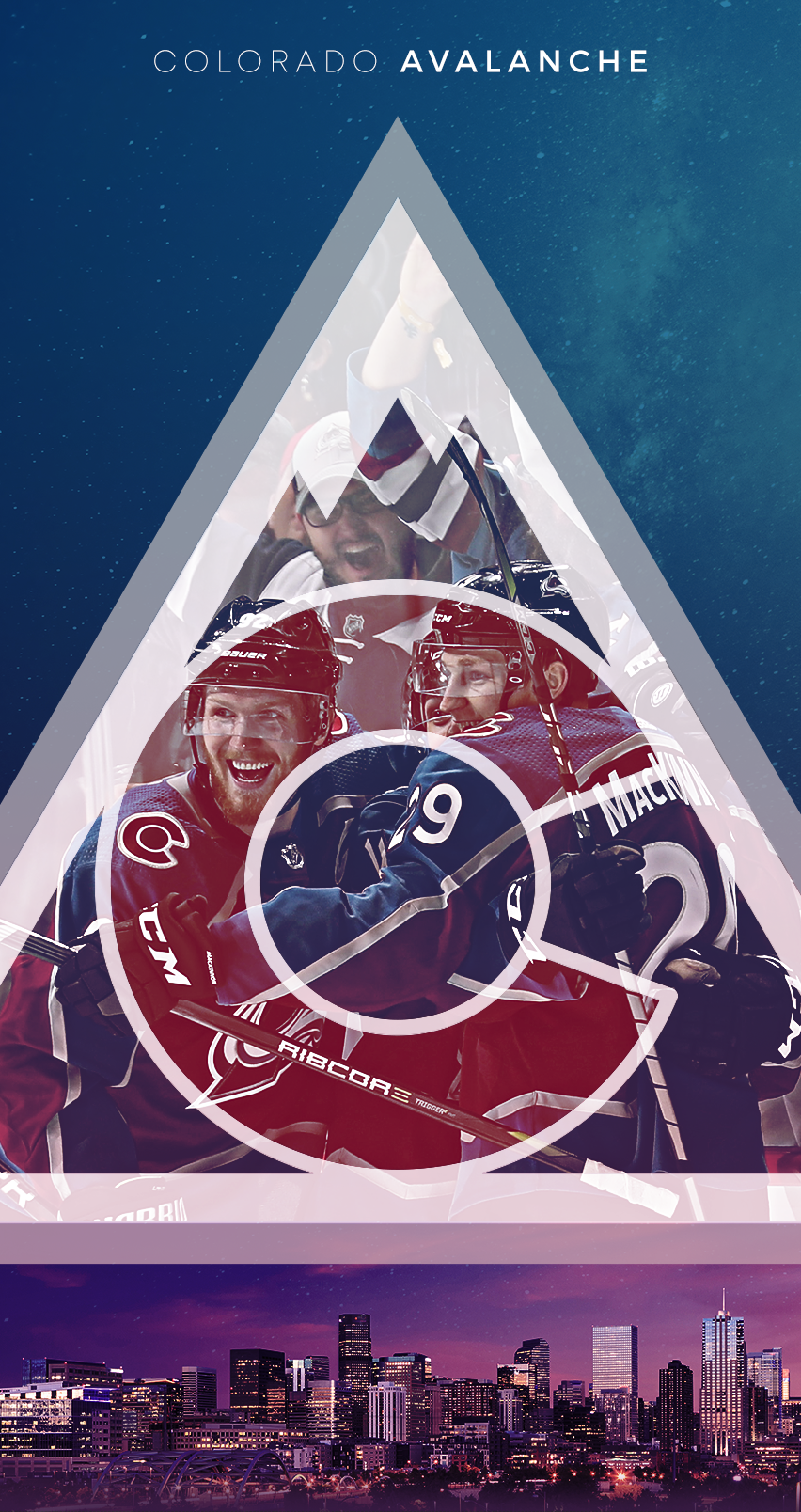 852x1608 - Colorado Avalanche Wallpapers 4