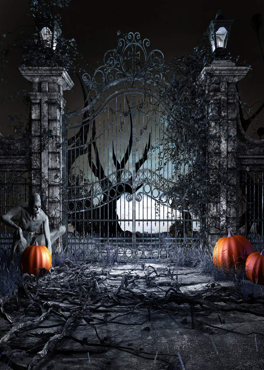 1000x1400 - Scary Halloween Background 3