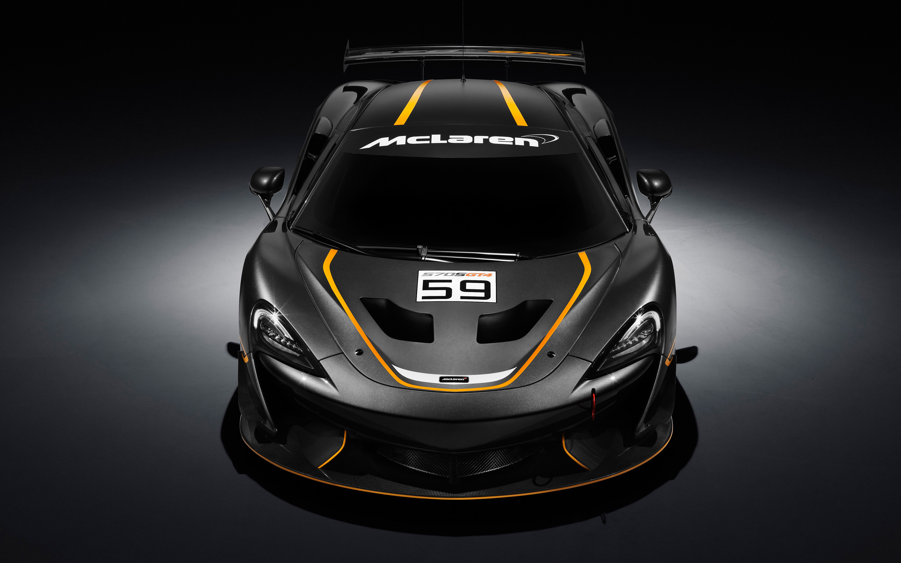2880x1800 - McLaren 570S GT4 Wallpapers 1