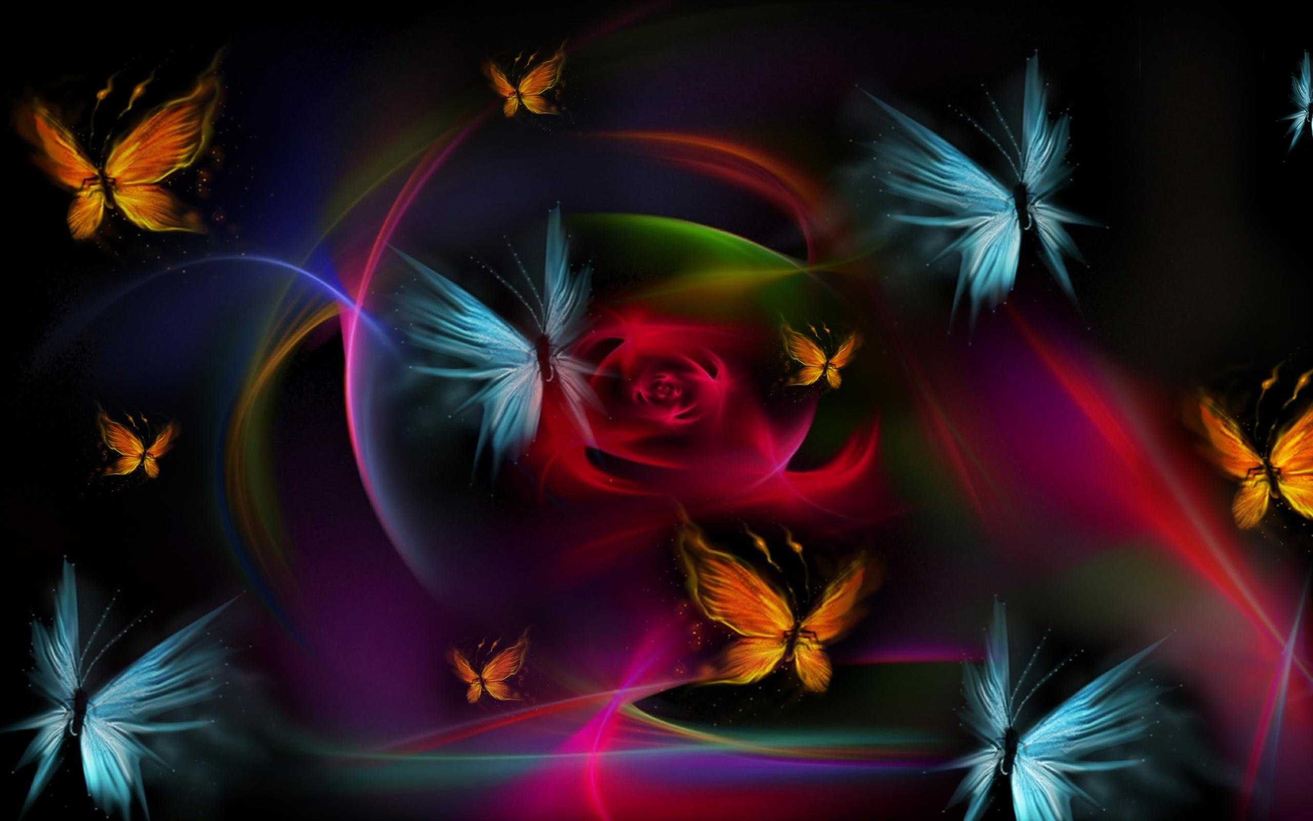 2560x1600 - Pretty Butterfly Backgrounds 26