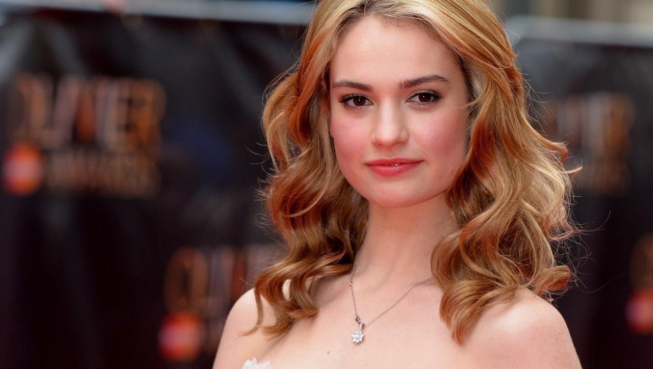 1280x724 - Lily James Wallpapers 9