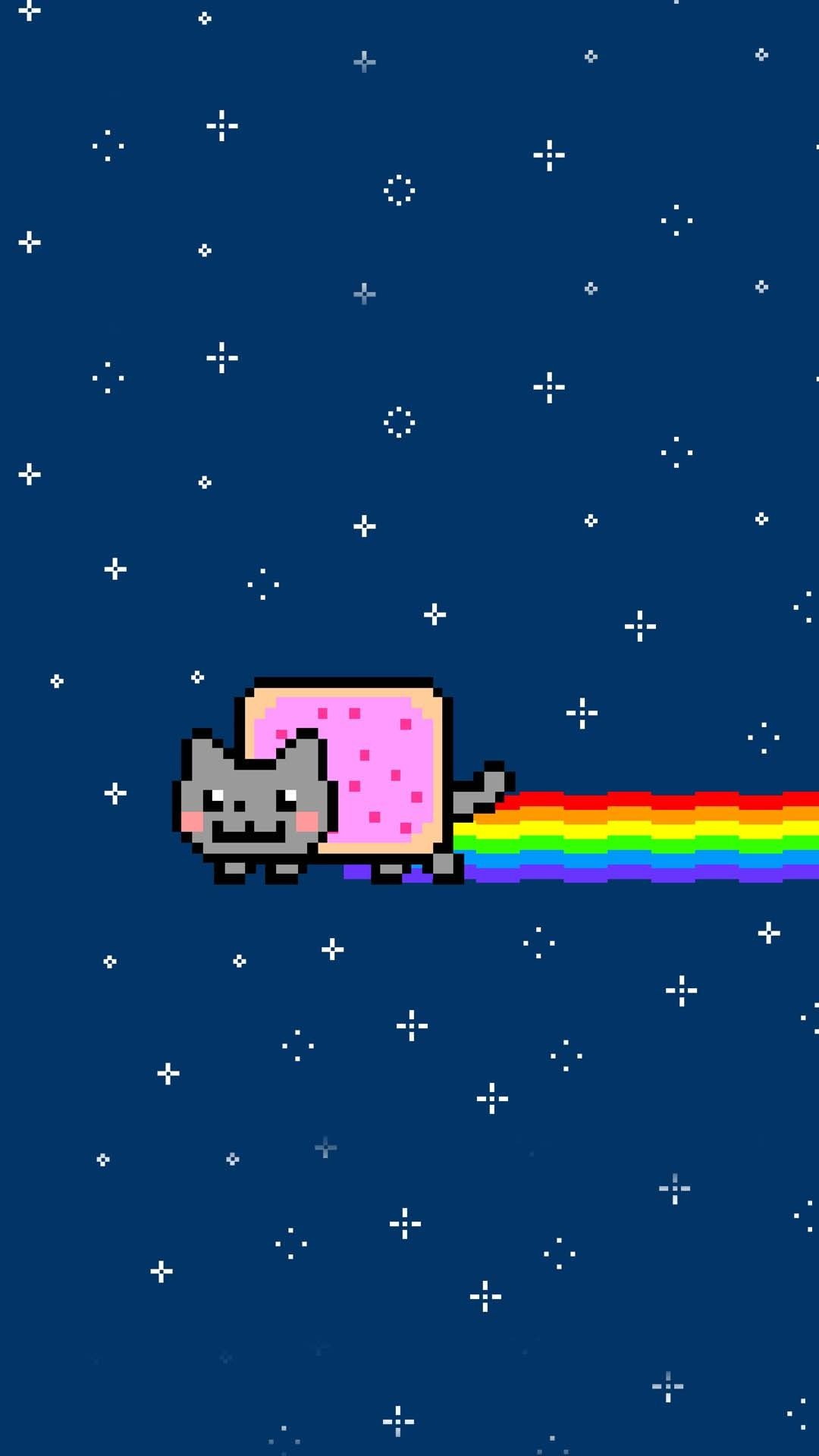 1080x1920 - Nyan Cat iPhone 34