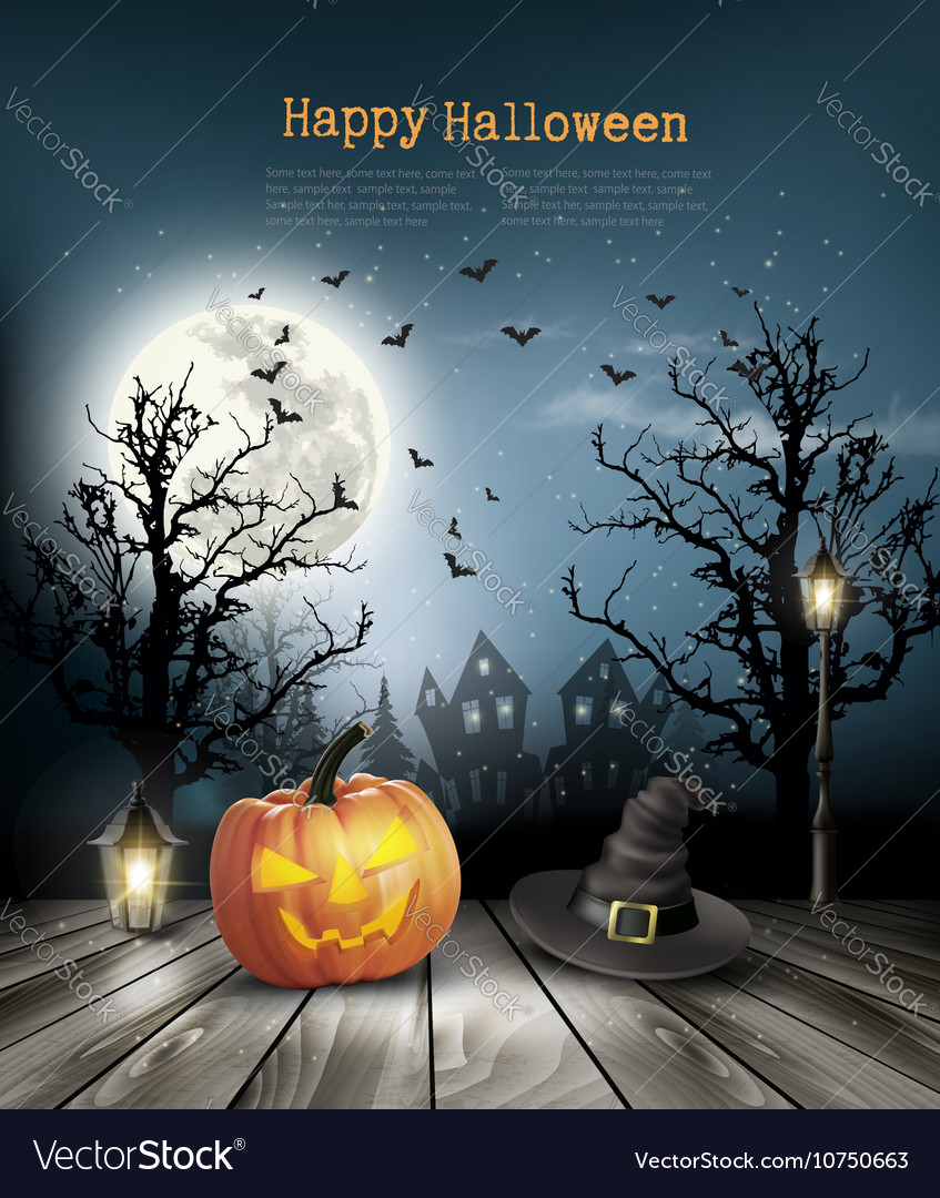 847x1080 - Scary Halloween Background 25