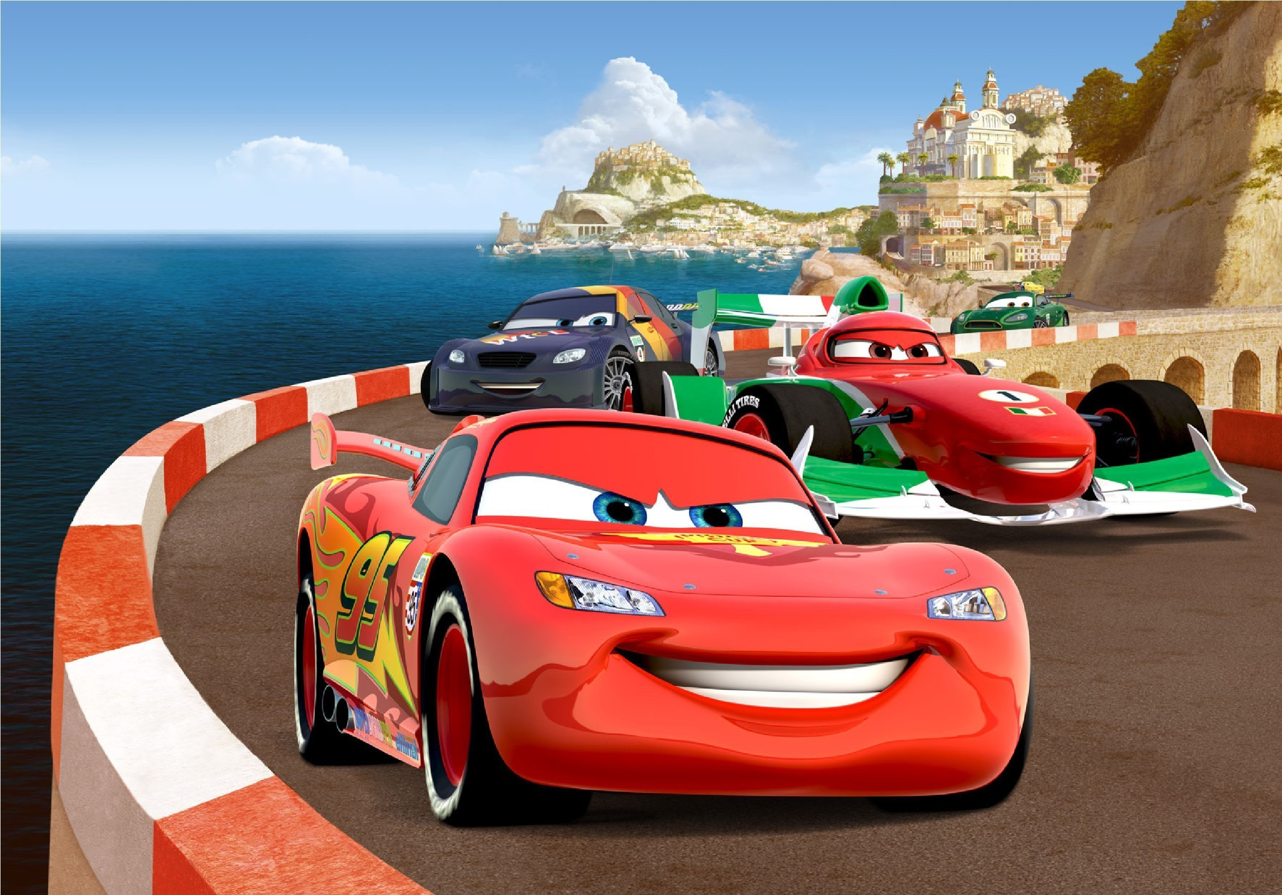 2537x1771 - Wallpaper Cars Cartoon 44
