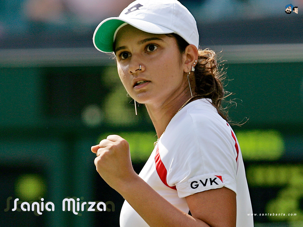 1024x768 - Sania Mirza Wallpapers 29