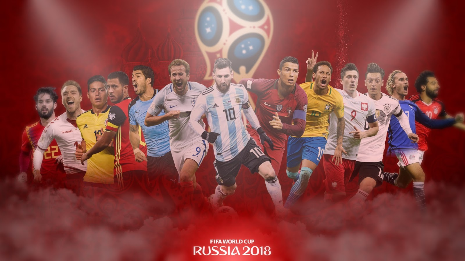 1600x900 - FIFA World Cup 2018 Wallpapers 21
